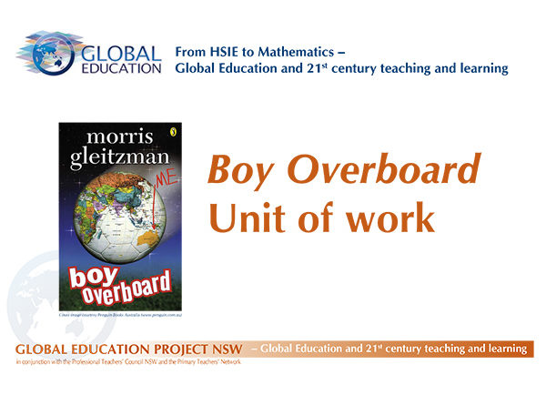 Boy Overboard a Stage 3 English Unit of work